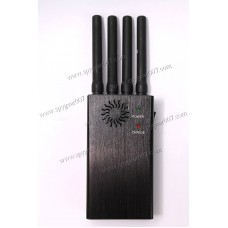 PORTABLE CELL JAMMER GPS / GSM / 3G
